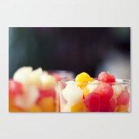 Summers vitamins Canvas Print