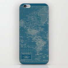 The World According to US iPhone & iPod Skin