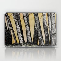 Row of Trees Laptop & iPad Skin