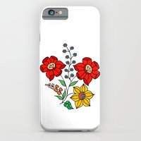 Hungarian placement print - white iPhone 6 Slim Case