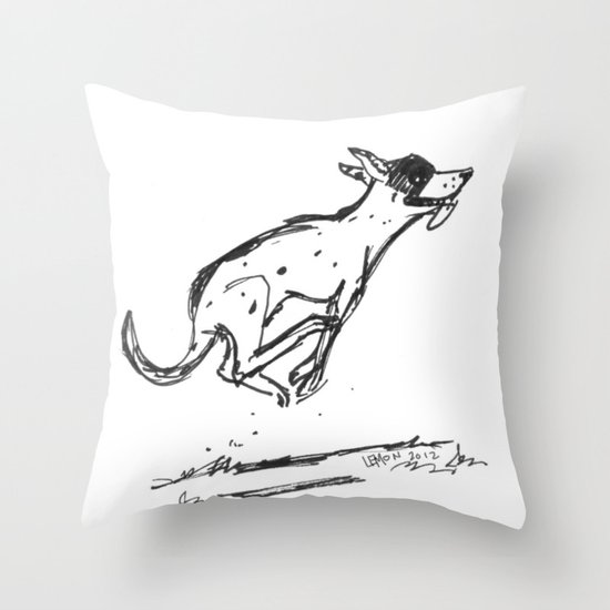 Bandito Oblivion Throw Pillow