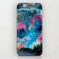 Watercolor Galaxy iPhone & iPod Skin