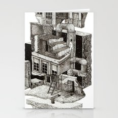 house fragment Stationery Cards