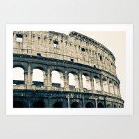 Colosseo Art Print