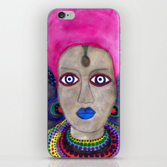 queen etnic pop iPhone & iPod Skin
