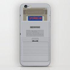 GAMEBOY - BEAUTIFUL BACK iPhone & iPod Skin
