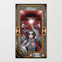 Major Arcana : The Devil Canvas Print