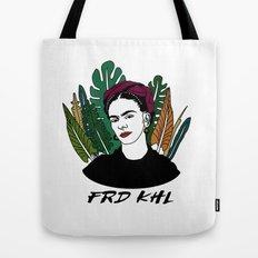Veggie Frida Tote Bag