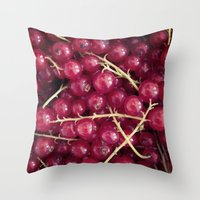 Berry Berry Throw Pillow