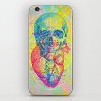 Brain Heart Skull iPhone & iPod Skin