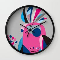 Miss Galah Wall Clock