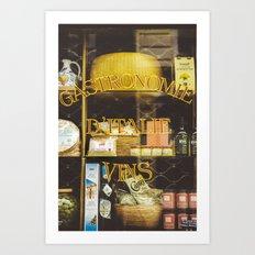 Gastronomie Italienne, Vins Art Print