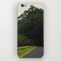 The Forest - Scene Three iPhone & iPod Skin