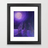 Spirits In The Night Framed Art Print