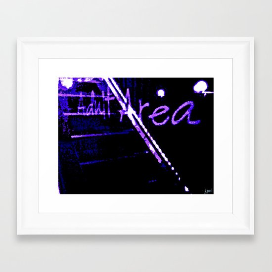 Stairway To Kevin Framed Art Print