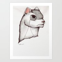 Don't Try To Weasel Your… Art Print