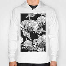 White Poppies Hoody