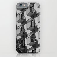 iPhone & iPod Case featuring Serial balconies by MoreOrLens