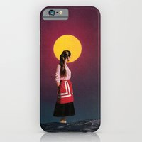 iPhone & iPod Case featuring GOLDEN MOON by Beth Hoeckel Collage & Design