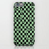 Punk 1 Green iPhone 6 Slim Case