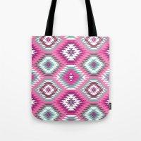 Navajo Dreams-Pink Tote Bag
