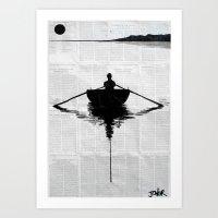 A Simpler Plan Art Print