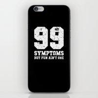 99 Symptoms iPhone & iPod Skin