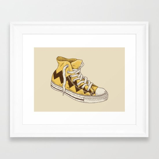 Chuck Framed Art Print