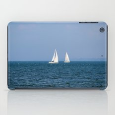 sailing away iPad Case