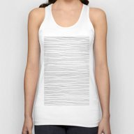 More Lines Unisex Tank Top