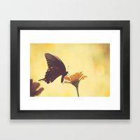 Shadow Dancing on the Wind Framed Art Print