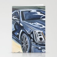 Black On Black {Cadillac… Stationery Cards