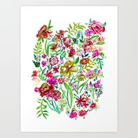 Gypsy Blooms - Day Art Print