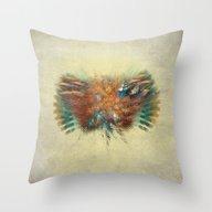 Flying Art Throw Pillow