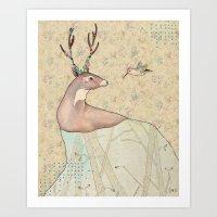 ...tener Un Bosque Dentr… Art Print