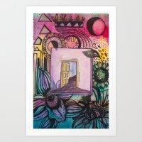 Door To Eden Art Print