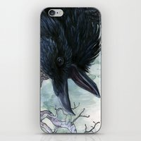 Thought And Memory iPhone & iPod Skin