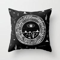 Interstellar Deserts Throw Pillow