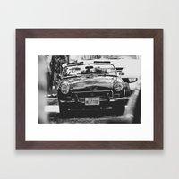 MG Framed Art Print