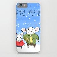 Mice In The Snow - Chris… iPhone 6 Slim Case