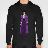 Prince - Purple Rain Pattern - Light Hoody