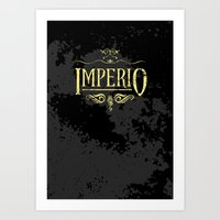 Harry Potter Curses: Imp… Art Print