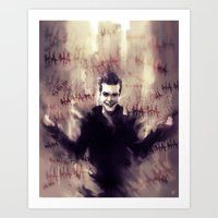 Jerome Valeska - Gotham Art Print