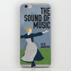 The Sound of Music Staring Julie Andrews iPhone & iPod Skin