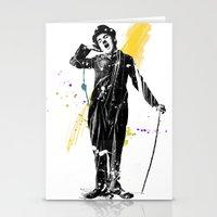 Charlie Chaplin 05 Stationery Cards