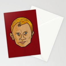 Daniel Craig is James Bond Stationery Cards