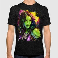 She-Hulk Mens Fitted Tee Tri-Black SMALL