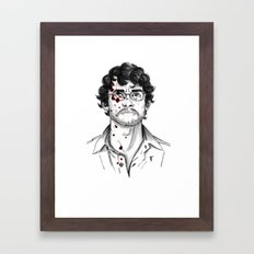 Will Graham - Hannibal Tryptch Framed Art Print