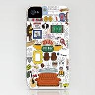 Collage iPhone (4, 4s) Slim Case