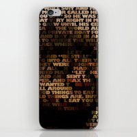 Where The Wild Things Ar… iPhone & iPod Skin